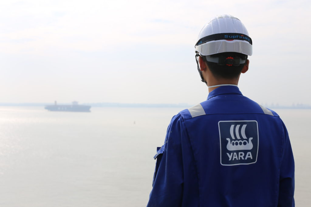 Yara man in Shipyard