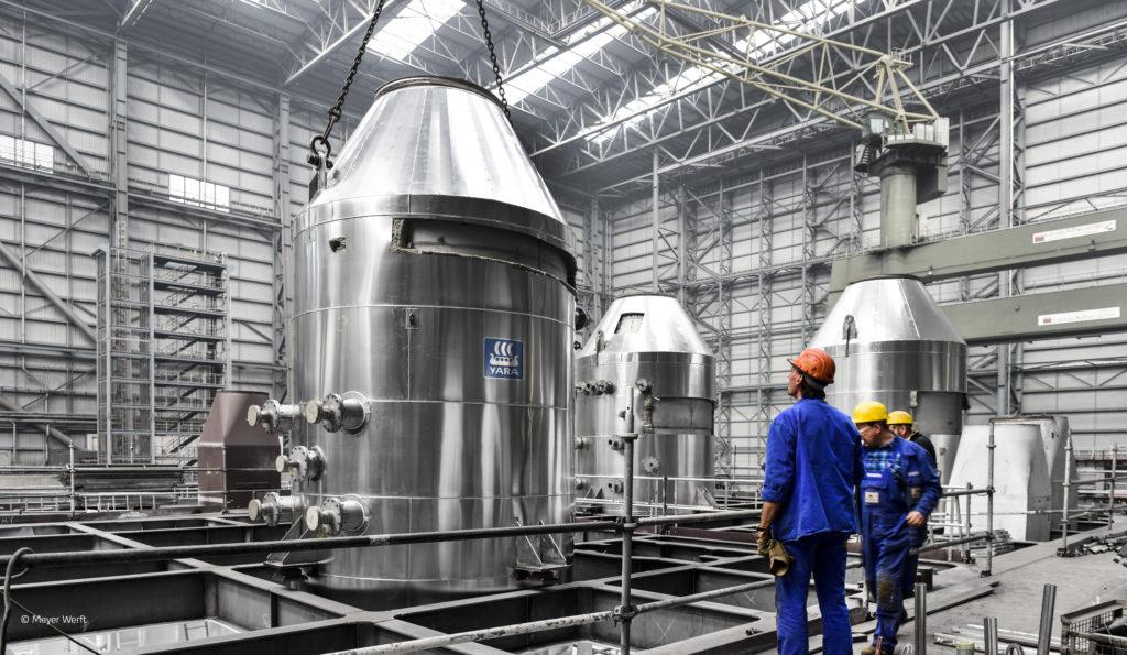 SOx scrubber Meyer Werft